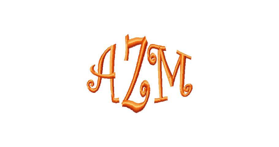 Curlz Monogram Font-curlz font