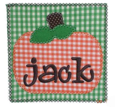 Chubby Pumpkin Patch Applique Design-pumpkin, fall, harvest, thanksgiving, autumn, patch