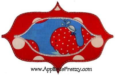 Savannah Patch Applique Design-patch, savanah, monogram