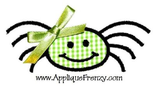Spider Applique Design-spider, fall, halloween, trick or treat