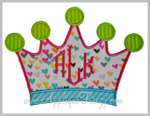 Crown Applique-