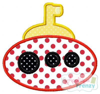Summer Fun Submarine 2 Applique-