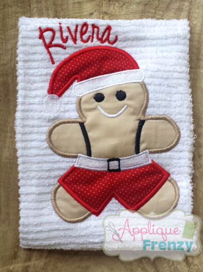 Gingerbread Santa Design-winter, santa,  gingerbread, baking, christmas