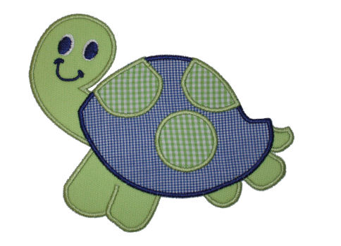Turtle Applique Design-animal, sea life, turtle