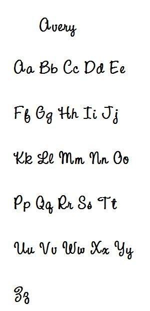 Avery Font-font, avery