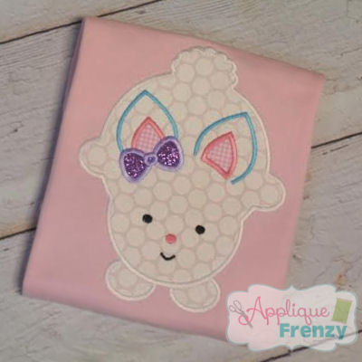 Bunny 115 Applique Design-bunny, easter,