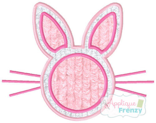 COMING SOON- Bunny Face with Center for Monogram-