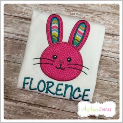 Bunny Rabbit-14 Applique Design-