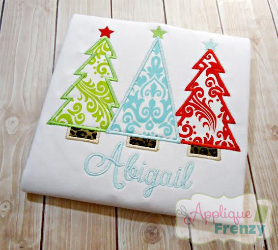 Christmas Tree Trio Design-