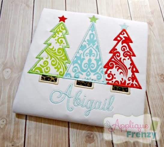 Christmas Tree Trio Design-