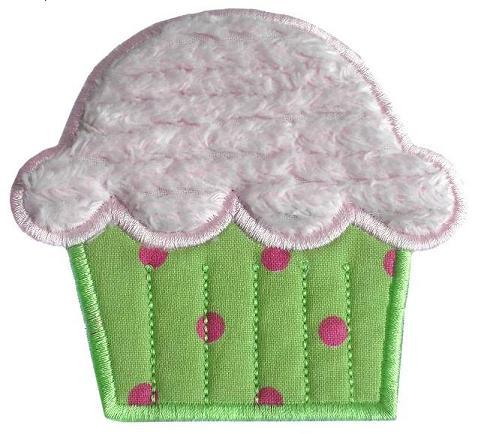 Cupcake Applique Design-