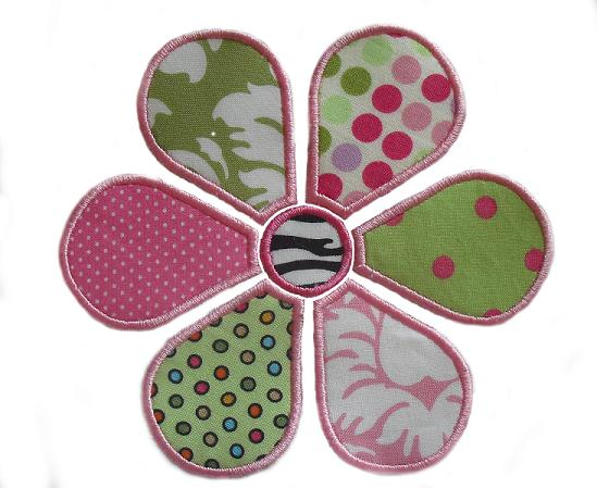Daisy applique design