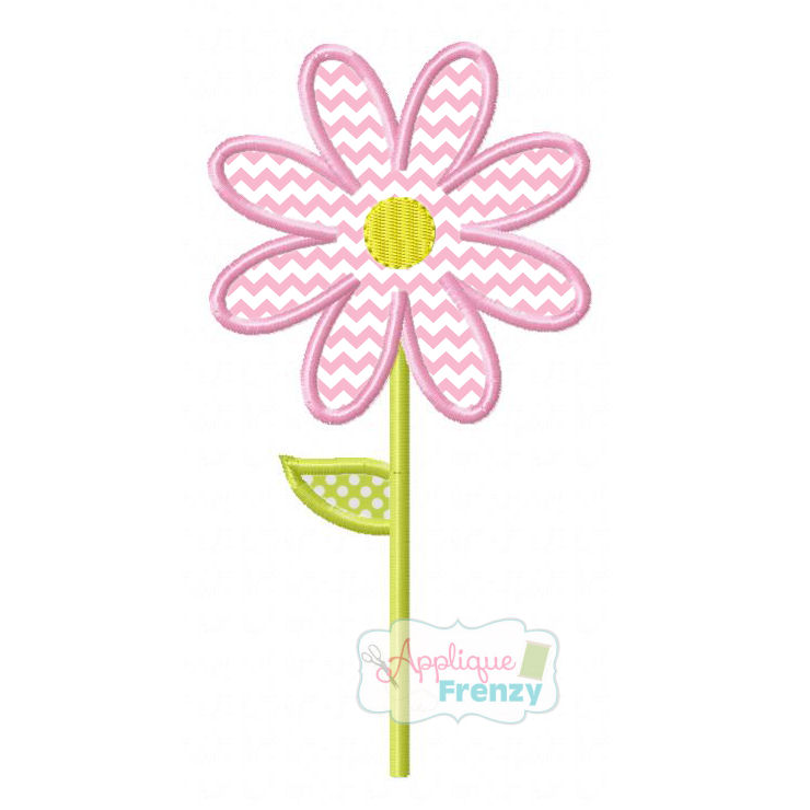 Daisy 2 Applique Design-
