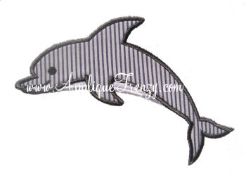 Dolphin Applique Design-