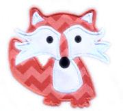 Fox Applique Design-kellys kids, kelly's kids, fox