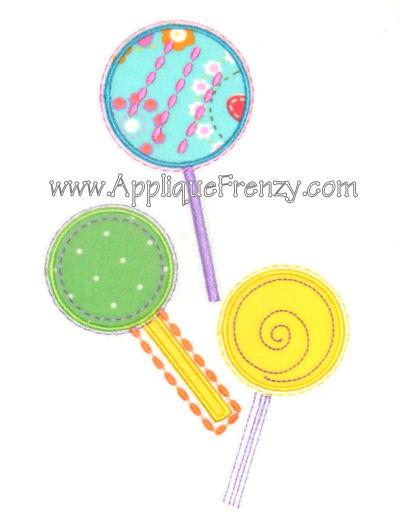 Lollipop Trio Design-