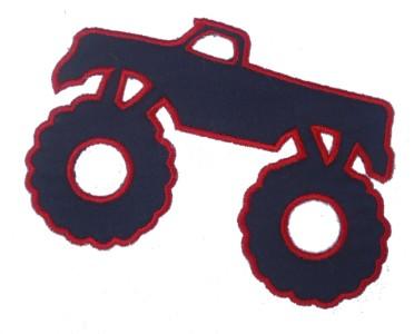 Monster Truck Applique Design-monster truck
