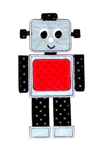 Robot 1 Applique Design-robot