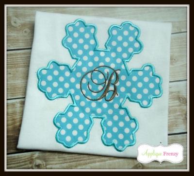Snowflake 2 Applique Design-