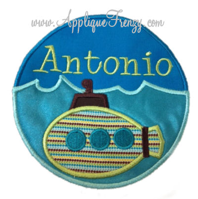 Submarine Patch Applique-
