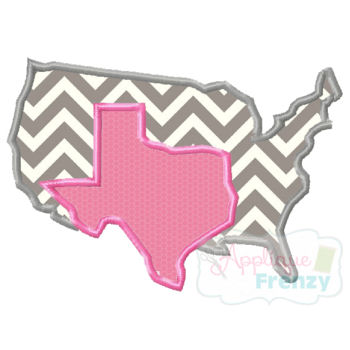 Texas and Texas Girl Applique Design-TEXAS disproportionately awesome, big texas, texas girls, texas is great, everything is big in texas, texas girl