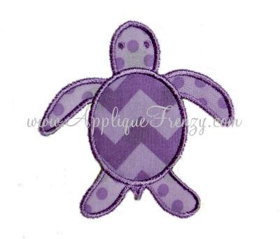 Sea Turtle Applique Design-