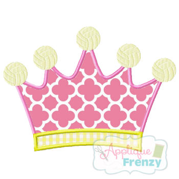 Queen of the Court-VOLLEYBALL Applique Design-volleyball, volleyball queen, volleyball princess, queen of the court, vball, bump set spike.