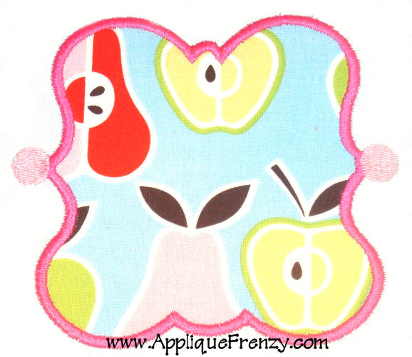 Chloe Patch Applique Design-patch, monogram, choloe