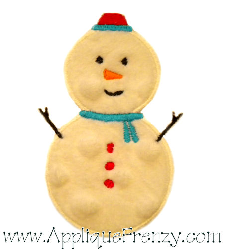 Frosty Applique Design-