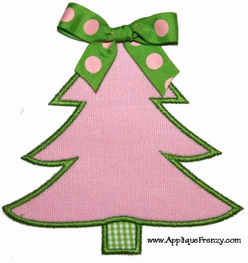 Christmas Tree Applique Design-christmas tree, winter, santa , snowman