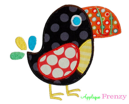 Toucan Male Applique Design