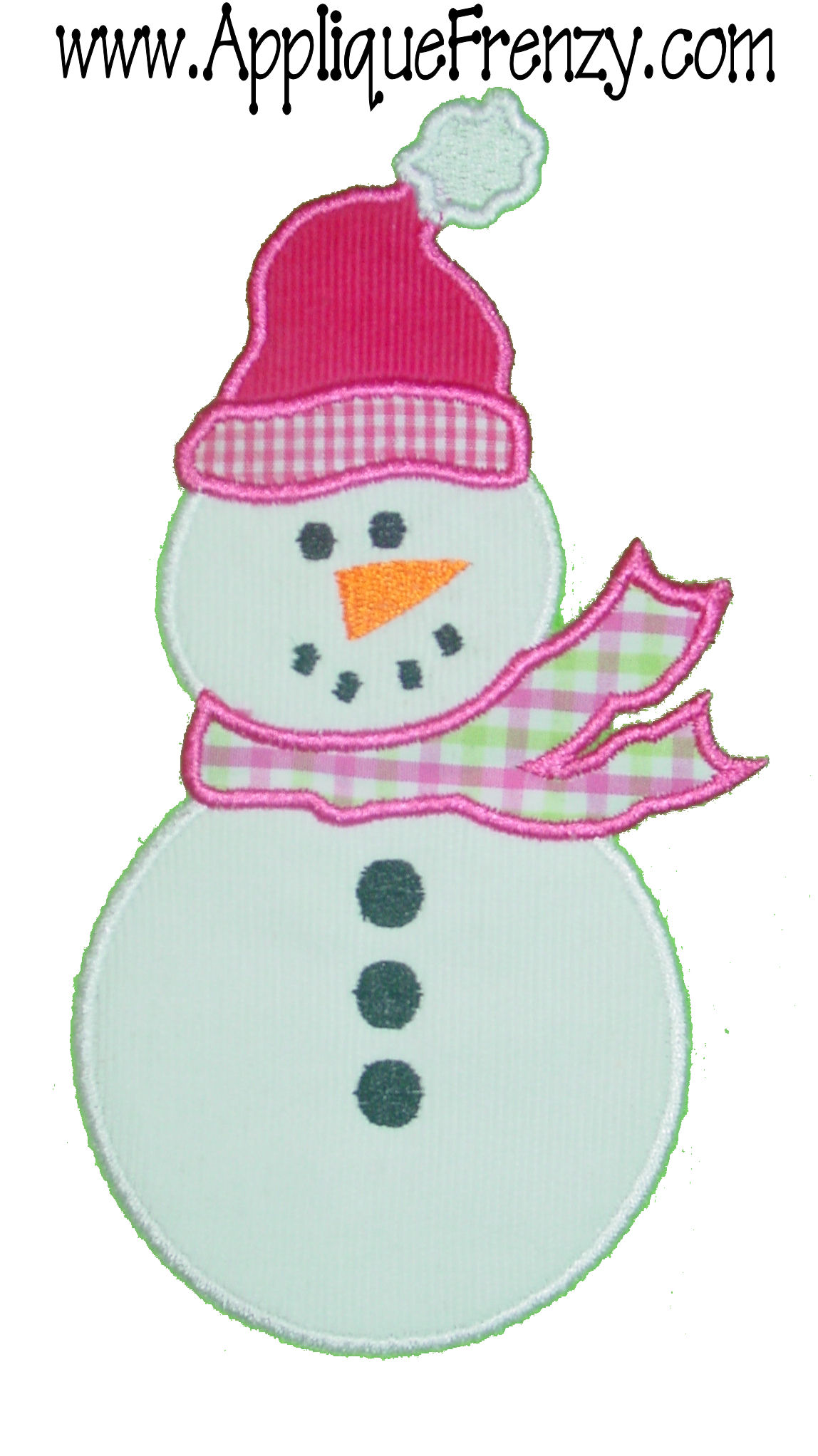 Snowman 2 Applique Design-snowman, chrismtas, frosty, santa,winter, snow
