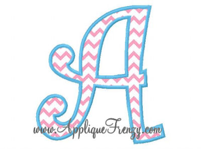 Promo April 10-15th,2013 -Curlz Applique Font-