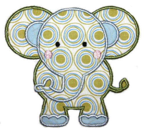 Elephant Applique Design-elephant, alabama, football