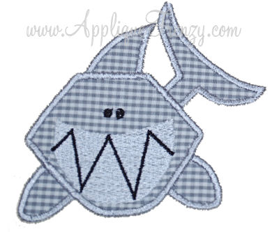 Shark Applique-