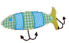 Fishing Lure Applique Design