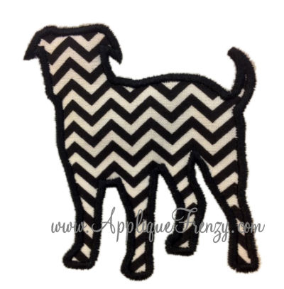 American Bulldog Applique-