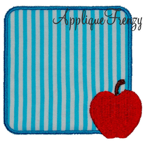 Apple Mini Patch Applique Design