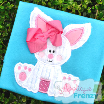 Baby Bunny Applique Design-