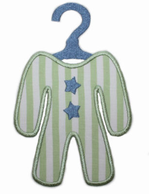 Baby Layette Applique Design