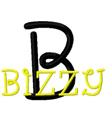 Bizzy Font-font, bumble bee,
