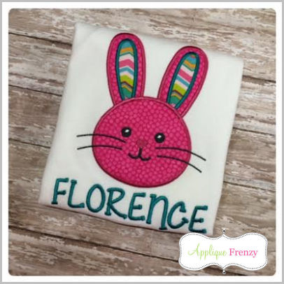 Bunny Rabbit-14 Applique Design