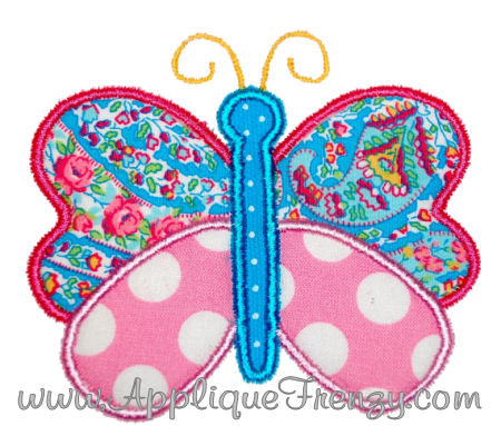 Butterfly 2 Applique Design