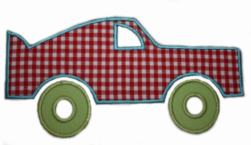 Car Applique Design