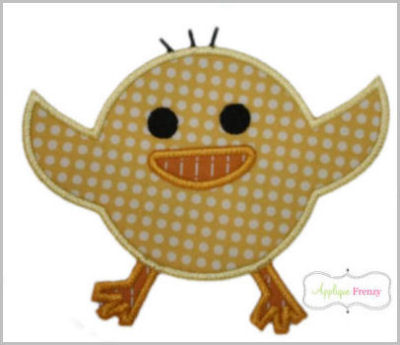 Chicky2 Applique Design