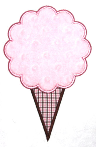 Cotton Candy Applique Design