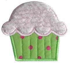 Cupcake Applique Design-