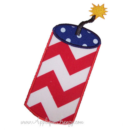Firecracker Applique Design-