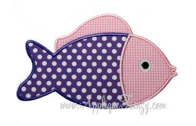 Fish 3 Applique Design