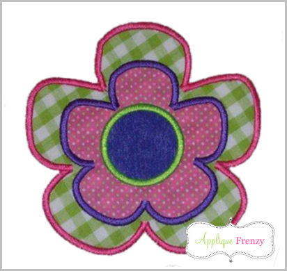Flower2 Applique Design-